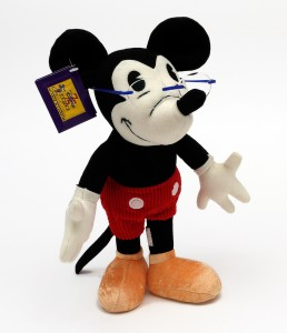 75th Anniversary Mickey with blue italee glasses
