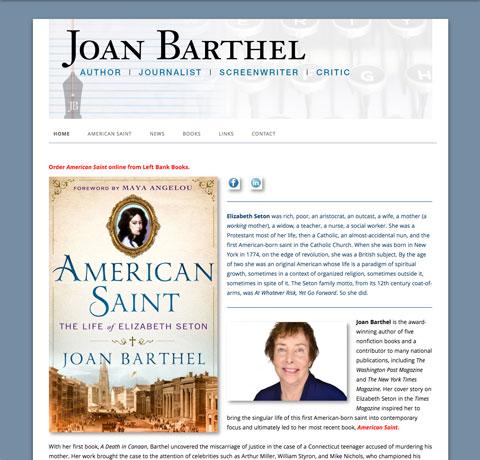 joanbarthel.com new home page
